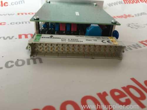 DeltaV/EMERSON KJ3002X1-BF1 VE4003S6B1 12P1732X012 I/O CARRIER W/SHIELD 8WIDE 160MA 12VDC