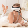 Wireless Remote Control Digital with Eye Massager with heat compression and Music