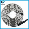 2017 Newest Metal Stainless Steel Water High Pressure Flexible Garden Hose