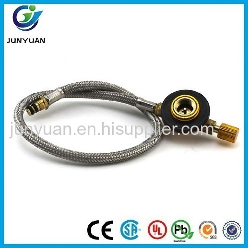 tube Connecting Pipe Bottle Link Stove Hose with fire power Regulating valves