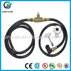 Flexible corrugated hose wire braided hydraulic hose