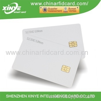 Contact SLE5542 SLE4428 ISSI4442 ISSI4428 chip card