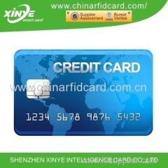 Pvc inkjet SLE4428 smart card di contatto con scheda chip EMV