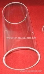 Large diameter quartz tube
