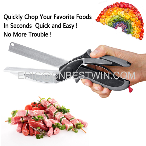CLEVER CUTTER AS SEEN ON TV HIGH QUALITY WITH TPR HANDLE 420J2 BLADES TUV TEST/2017 CLEAVER CUTTER AS SEEN ON TV