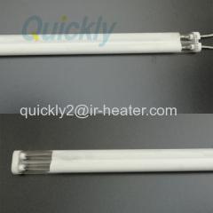 중파 백색 코팅 IR 램프