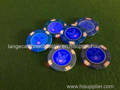 High technique RFID Poker Chip Casino Gaming ID Chips Poker Chips