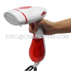 New design fabric steamer/2017 folding fabric steamer for travel/ pump inside mini garment steamer factory