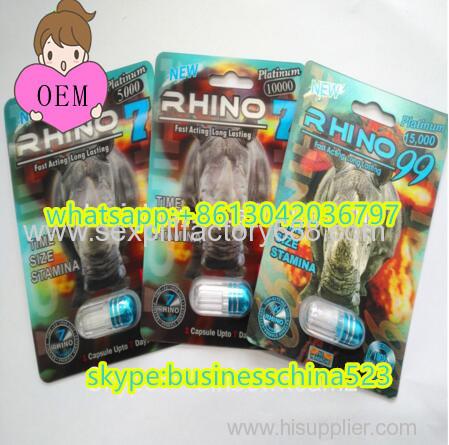 20-24capsules 3D rhino7 sex enhancer