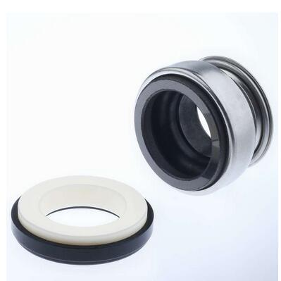 Rubber bellows mechanical seal