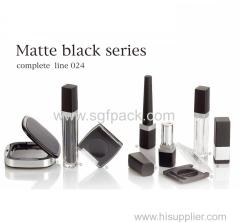 black square compact mirror lipstick tube square eyeliner tube