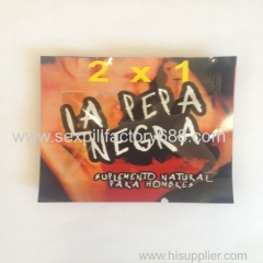 good selling la pepa negra 2x1 sexual pill