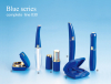 unique mascara tube blue color compact lipstick tube lip gloss tubes packaging