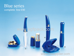 blue color mascara tube compact lipstick tube lip gloss tubes packaging