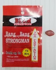Bang bang strongman sexual comprimidos pénis masculino alargamento