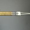 Quartz glass fast medium wave IR lamps