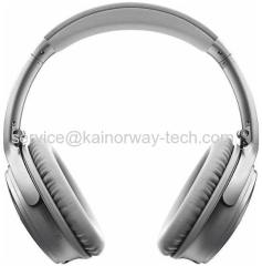 New Bose Quiet Comfort 35 QC35 Over-Ear Acoustic Noise Cancelling Silver Bluetooth NFC Headband Headsets With Mic Remote