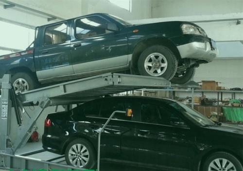 Simple structure car parking equipment