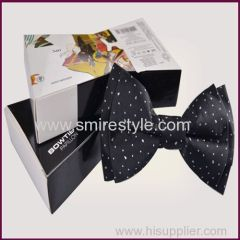 Woven Custom Bow Tie Packaging Box Paper Boxes