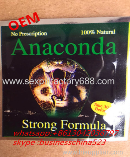 Anaconda sexual stimulation erection health food