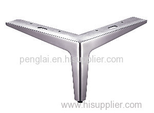 Stainless Steel Polish And Brush Furniture Legs For Sofa