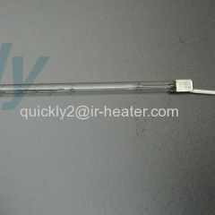 Quartz infrared heating single tube IR emitter