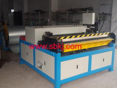 square duct pipe production line