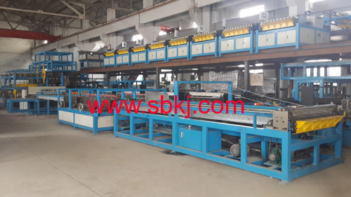 Rectangular Duct Making Machine