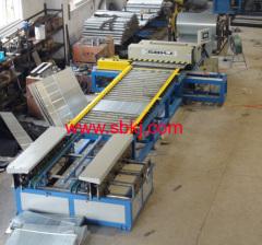 rectangular duct forming machine