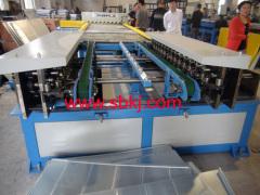 duplex TDF flange forming machine
