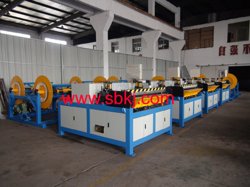 Air Duct Making Machine