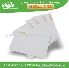 plastic blank / CMYK printing ISO 15693 RFID card 13.56mhz NFC PVC/PET cards