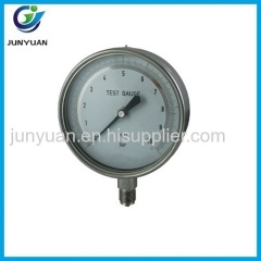 Test gauge All stainless steel series bayonet ring