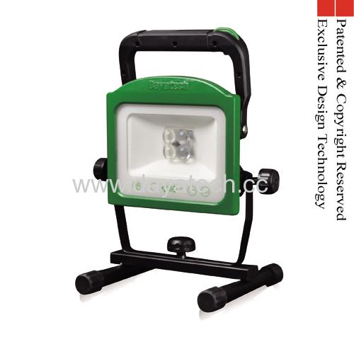 Rechargeable Portable LED Work Light Vari-focus Lens Detachable Battery