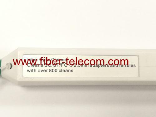 Pen-style Fiber Cleaner for SC/FC/ST/E2000 connectors