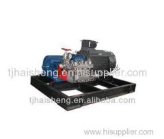 hydro blasting pump used for cleaning casting