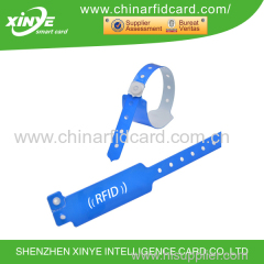 One-time-use Disposable HF RFID Tag / Wristband