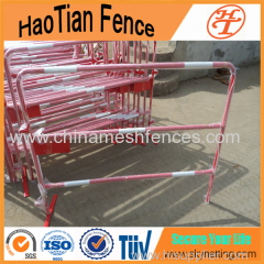 1000MMx1500MM Powder Coated Metal Steel Road Traffic Barriers with Reflection Tape