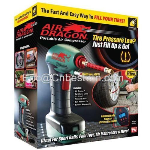 Air dragon portable air compressor as seen on tv/Air dragon portable air compressor manufacturer/China Air dragon portab