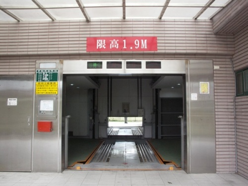 Automatic horizontal rotary parking system