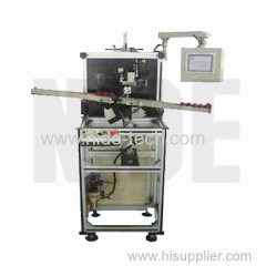 Automatic rotor insulation paper inserting machine which controled by PLC
