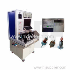 Automatic armature testing machine