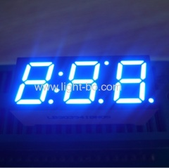 "Custom Triple digit 0.39"" Common Anode Ultra Blue 7 Segment LED Display for Instrument Panel"