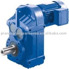 HF Series parallel shaft helical gear reducer