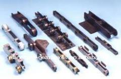 Gear Racks Acetal Die-Cast Gear Racks Steel Tempered Helical Tooth