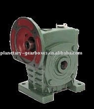 MRV075 worm gear alluminium alloy motor reducer/varitor with hollow shaft