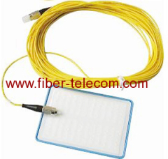 Optical Fiber Cleaning Card with plastic case