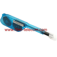 Optical fiber connector cleaner for MPO / MTP connectors