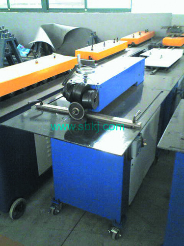 Power slitting and beeline machine