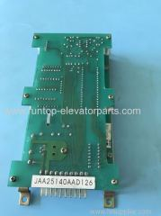 Elevator parts indicator PCB JAA25140AAD126 for OTIS elevator